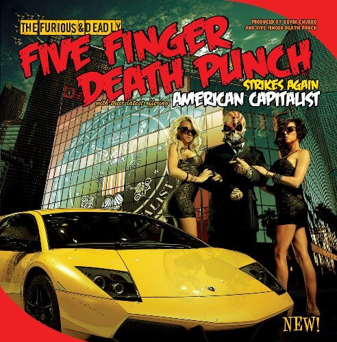 Five Finger Death Punch American Capitalist Explicit Version Deluxe Ed.