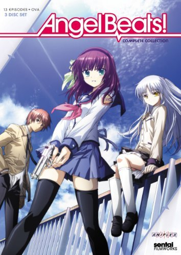 Angel Beats Complete Collectio Angel Beats Ws Tv14 3 DVD