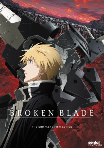 Broken Blade Complete Collect Broken Blade Ws Tv14 2 DVD