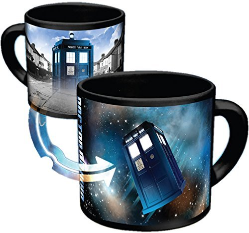 Mug Doctor Who Tardis Mug With Heat Activated Disappearing Tardis