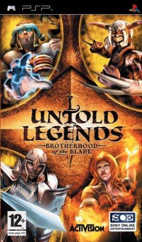 Psp Untold Legends Brotherhood Of Blade