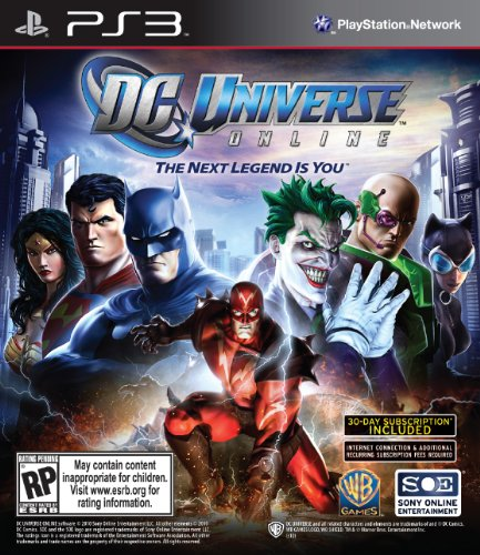 Ps3 Dc Universe Online Hero Edition Do Not Buy!