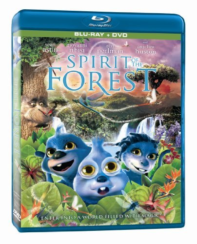 Spirit Of The Forest Spirit Of The Forest Blu Ray Ws Pg Incl. DVD
