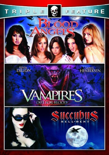 Vampires Blood Angels Succubus Horror Triple Feature Nr 2 DVD