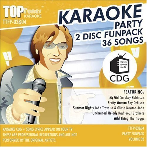 Top Tunes Karaoke Party Funpack Vol. 2 Karaoke Top Tunes Karaoke