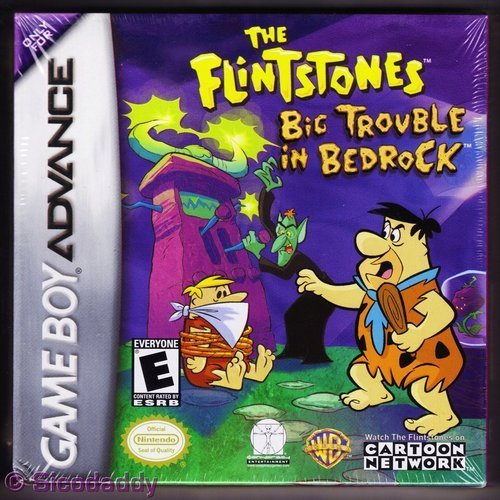 Gba Flintstones Big Trouble In Bed Rp