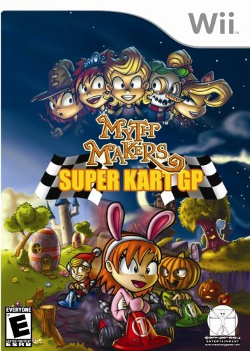 Wii Myth Makers Super Kart Gp
