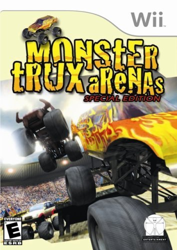 Wii Monster Trux Arena E