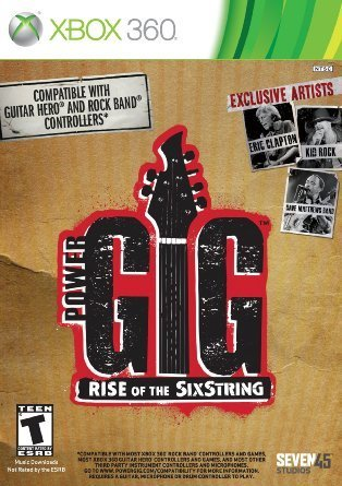 Xbox 360 Power Gig Rise Of The Sixstring (software Only)