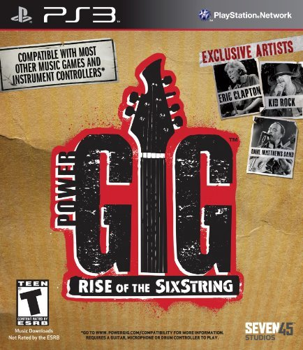 Ps3 Power Gig Rise Of The Sixstring (software Only)