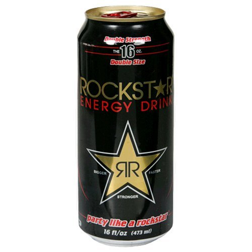 Energy Drink Rock Star 16oz