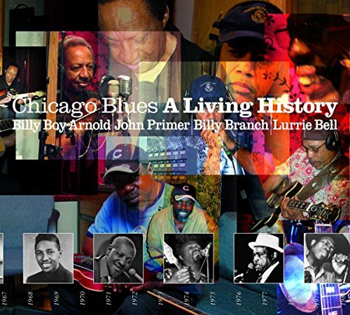 Bell Primer Branch Arnold Chicago Blues A Living Histor 2 CD Set