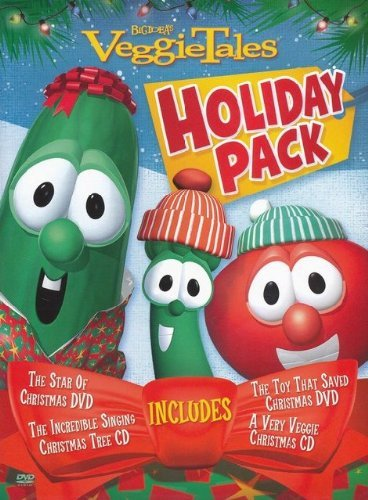 Big Idea Veggietales Holiday Pack The Star Of Christmas The Toy That Saved Christm