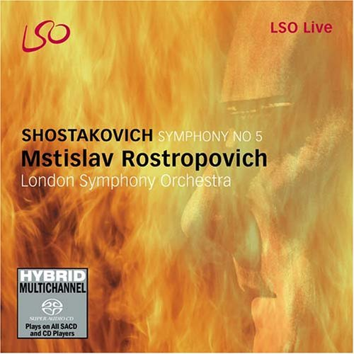 Dmitri Shostakovich Symphony No.5 Rostropovich London So