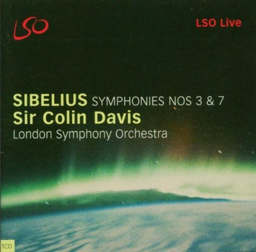 J. Sibelius Symphonies 3 & 7 Davis London So