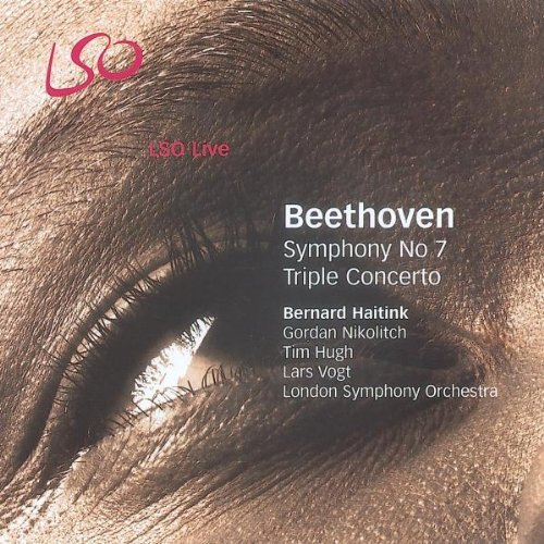 L.V. Beethoven Symphony No.7 Triple Concerto Nikolitch (vn) Hugh (vc) Haitink London So