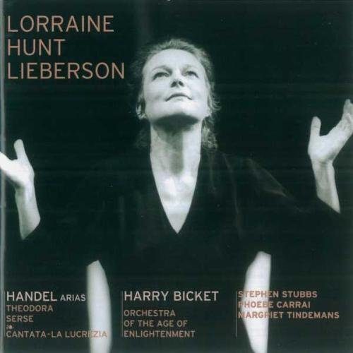 Hunt Lieberson Arias From Theodora & La L Bicket Orch Age Of Enlightenme