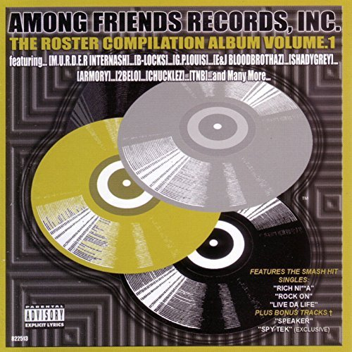 Inc. Among Friends Records Roster Compliation Album Vol. 1