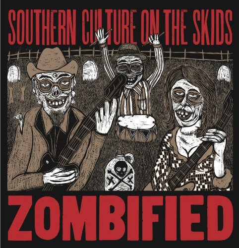 Southern Culture On The Skids Zombified Reissue Gate Fold Wallet
