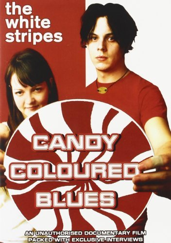 White Stripes Candy Coloured Blues Unauthori Nr