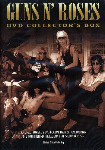 Guns N' Roses Collectors Box 2 DVD