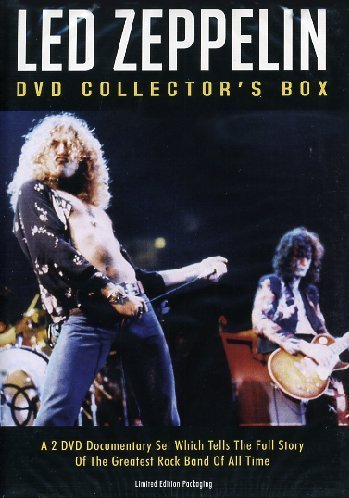 Led Zeppelin Collectors Box Unauthorized Nr
