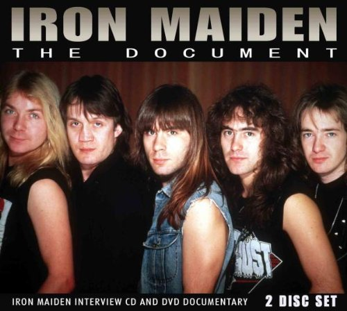 Iron Maiden Document Incl. CD Nr