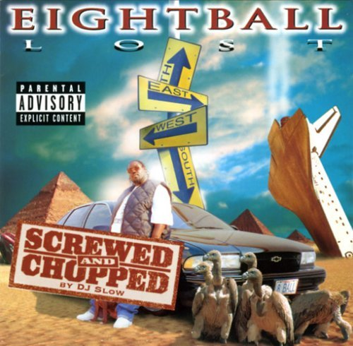 8ball Lost Chopped & Screwed Explicit Version Screwed Version 2 CD Set