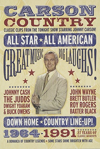 Johnny Carson Carson Country Themed Guest E Clr Nr