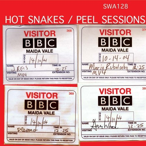 Hot Snakes Peel Sessions Ep