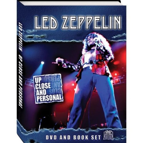 Led Zeppelin Up Close & Personal Incl. Book