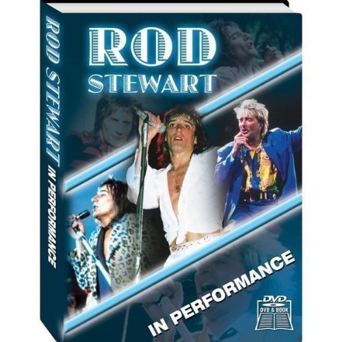 Rod Stewart In Performance Incl. Book