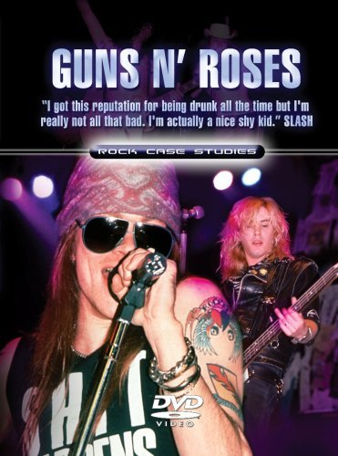 Guns N' Roses Rock Case Studies Incl. Book