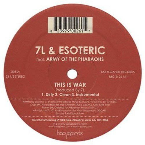 7l & Esoteric This Is War