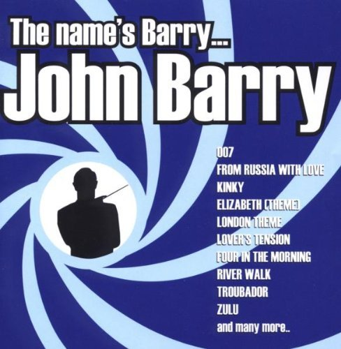 John Barry Name's Barry John Barry Import Gbr