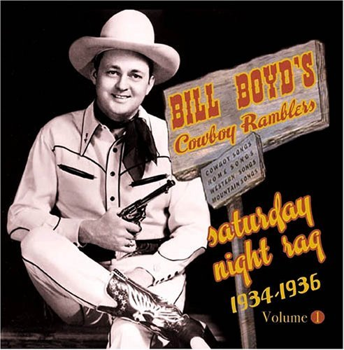 Boyd'sbill Cowboy Ramblers Saturday Night Rag 1934 36