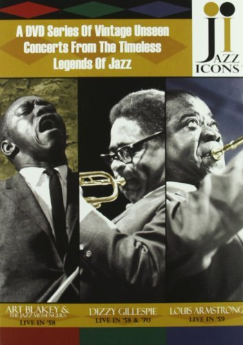 Jazz Icons Jazz Icons Blakey Baker Basie Rich Jones 8 DVD