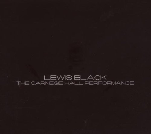 Lewis Black Carnegie Hall Performance Explicit Version 2 CD Set
