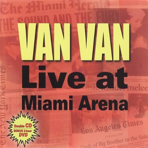 Los Van Van Van Van Live At Miam 2 CD Set