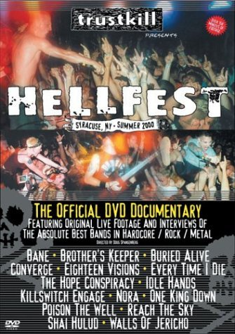 Hellfest Official DVD Documen Hellfest Official DVD Documen Bane Buried Alive Idle Hands
