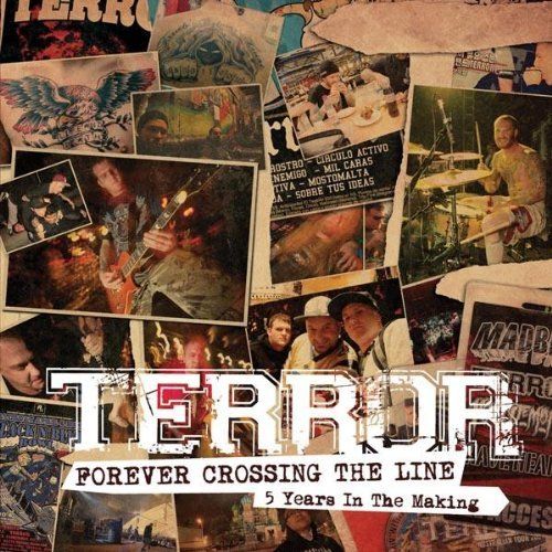 Terror Forever Crossing The Line Enhanced CD