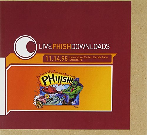 Phish Livephish 11 14 95 3 CD