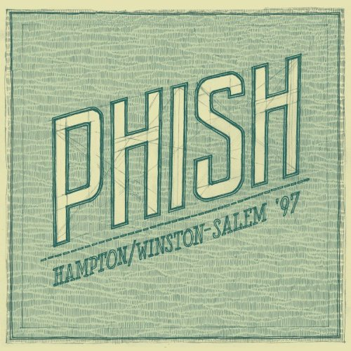 Phish Hampton Winston Salem '97 7 CD
