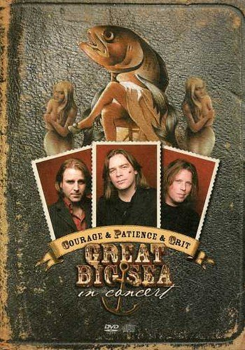 Great Big Sea Courage & Patience & Grit In C Import Can Incl. Bonus CD