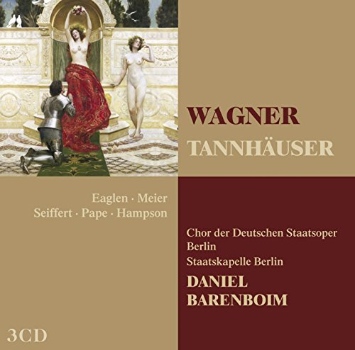 Richard Wagner Tannhauser 3 CD