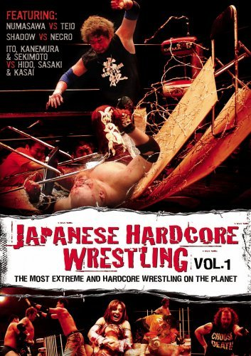 Japanese Hardcore Wrestling Vol. 1 Clr Ao