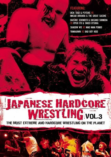 Japanese Hardcore Wrestling Vol. 3 Clr Ao