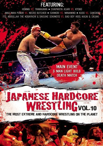 Japanese Hardcore Wrestling Vol. 10 Clr Ao