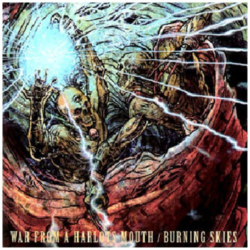 War From A Harlots Mouth Burning Skies Split