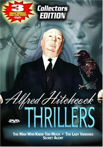 Man Who Knew Too Much Lady Van Alfred Hitchcock Thrillers Clr